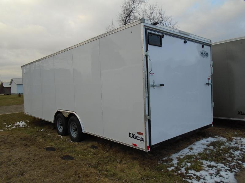 2018 Cargo Express EX series 8.5x24 Enclosed Cargo Trailer