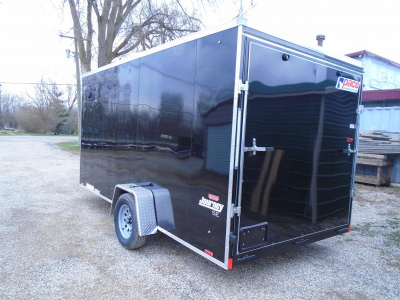 2020 Pace American 7x14 Journey SA Enclosed Cargo Trailer