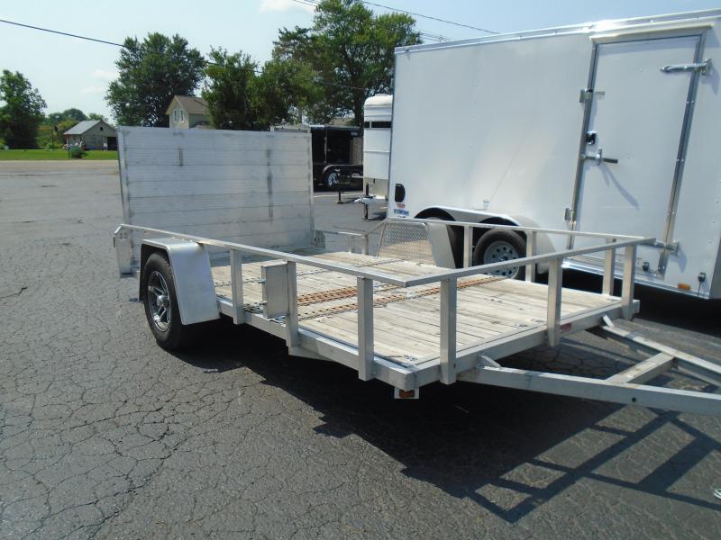 2014 GE 7x12 aluminum Utility Trailer