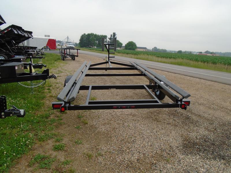 2019 20' single axle GE Float on pontoon trailer