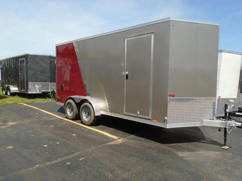 2020 Cargo Express 7x14 7k AX Series All aluminium Enclosed Cargo Trailer