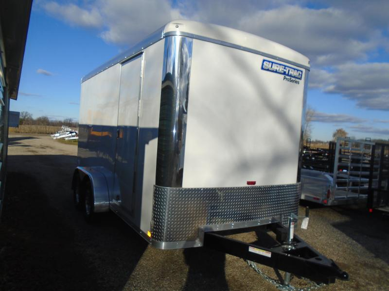 2019 Sure-Trac 7x14 pro series 7k Enclosed Cargo Trailer