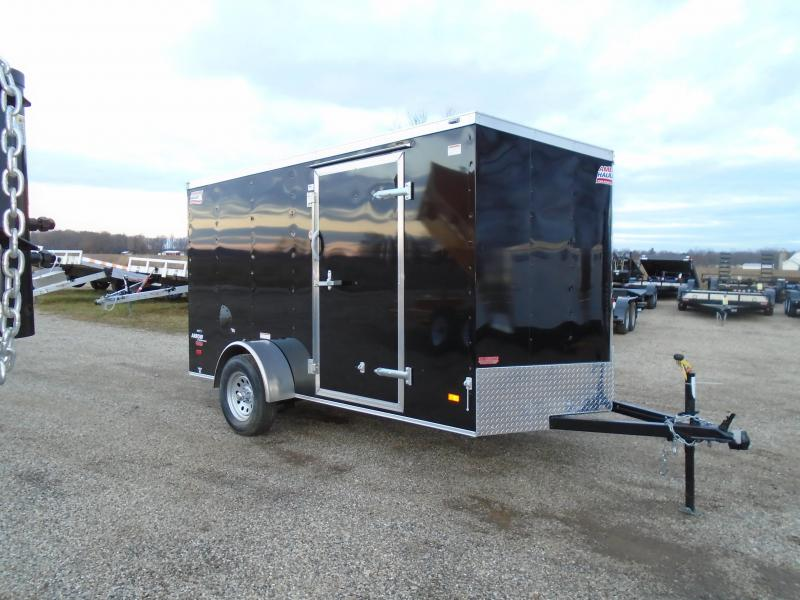 2019 American Hauler Industries 6x12 Enclosed Cargo Trailer