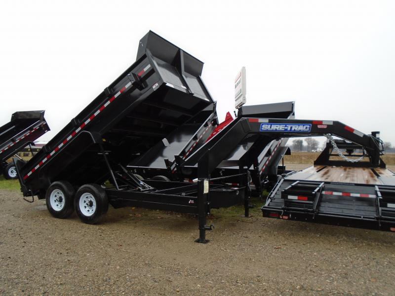 2019 Sure-Trac 82 IN X 16 LP 14K Goose Telescopic Dump