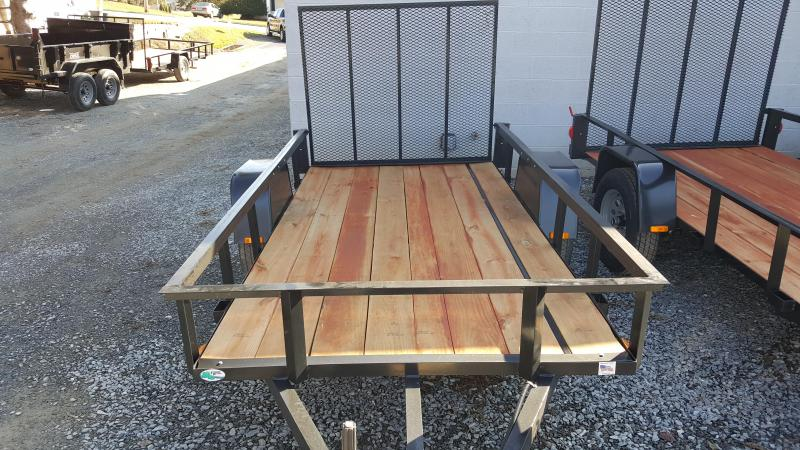 2019 Forest River Inc. FORCE 5X10 Utility Trailer