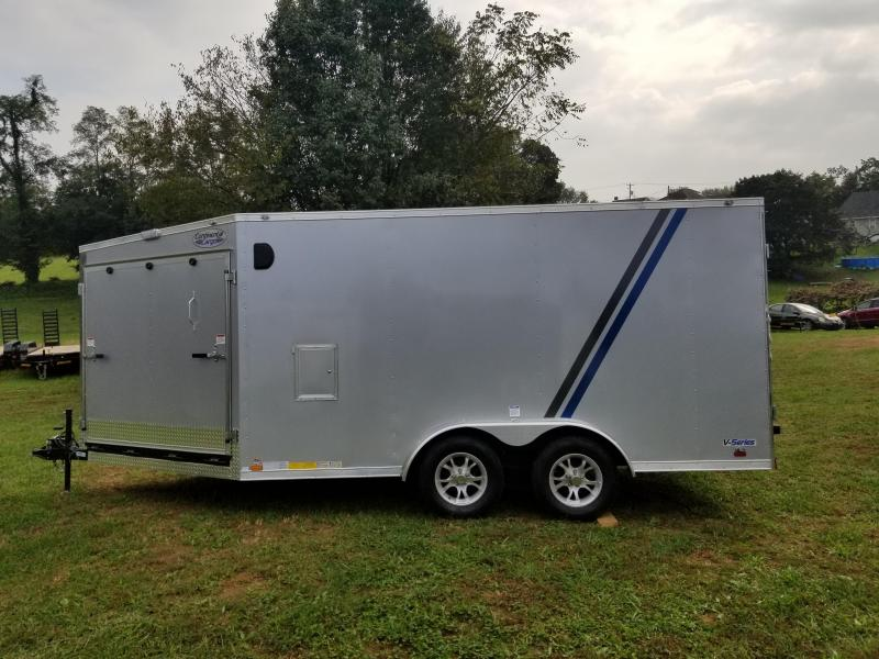 2019 Continental Cargo VHW714TA2 Snowmobile Trailer