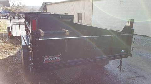 2018 Forest River Inc. 6x10 Dump Trailer