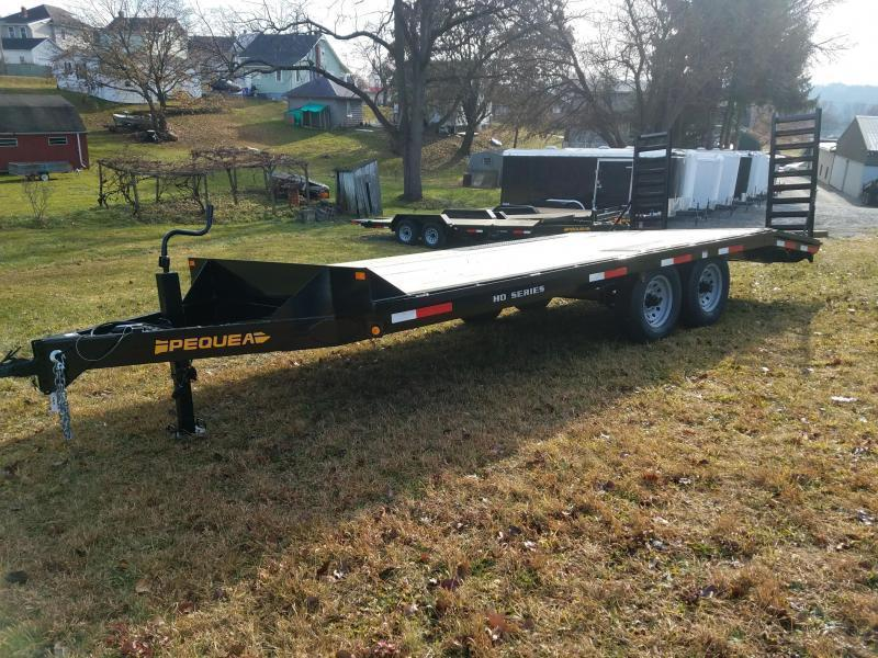 2019 Pequea DECKOVER 20 Flatbed Trailer in Ashburn, VA