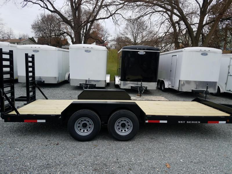 2019 Pequea SKIDSTEER 18' Equipment Trailer