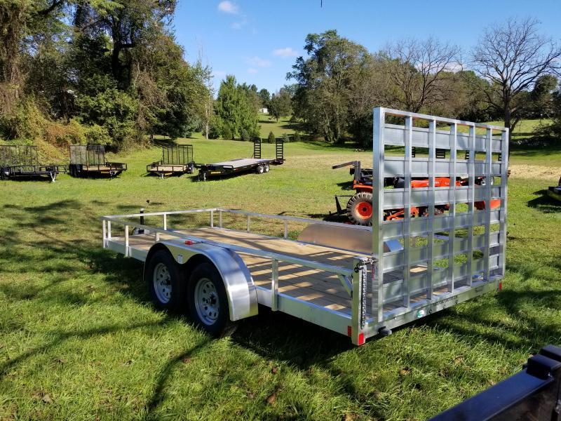 2019 Rance Aluminum Trailers 6.5 X 14 TA Utility Trailer