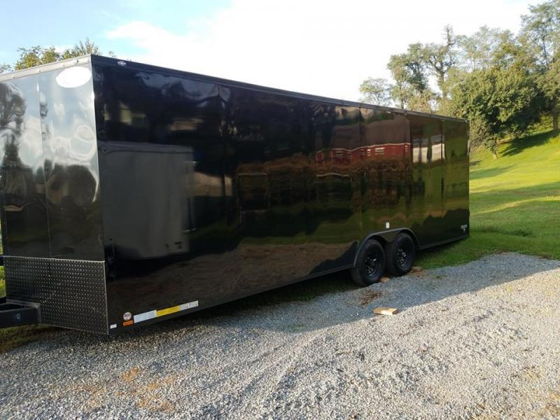 2019 Continental Cargo VHW8.5X24 Car / Racing Trailer
