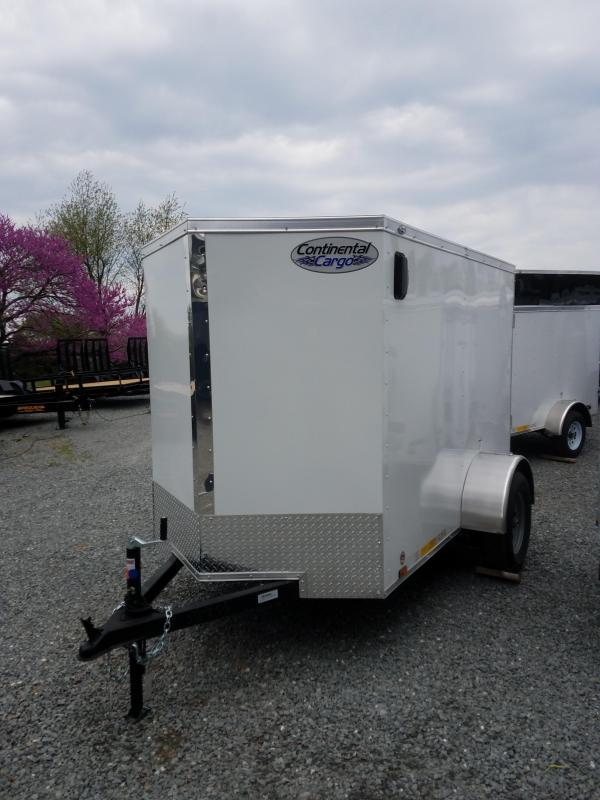2018 Continental Cargo VHW58SA Enclosed Cargo Trailer