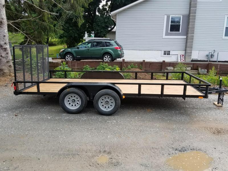 2018 Forest River Inc. 6.516TA2 Utility Trailer