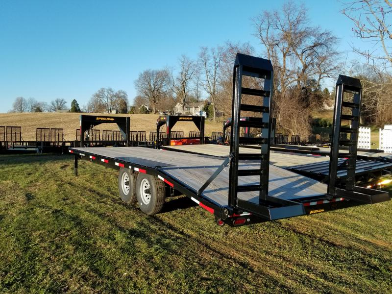 2019 Pequea GOOSENECK DECKOVER Equipment Trailer