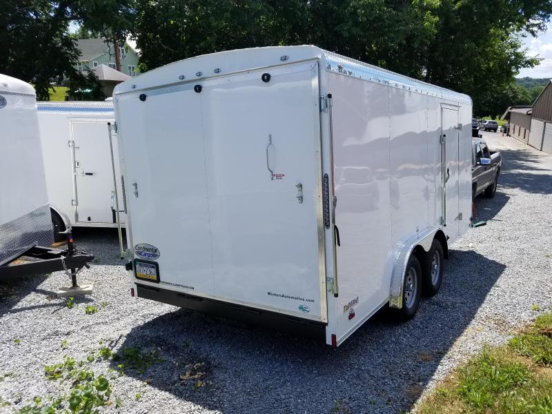 2018 Continental Cargo TW816TA2 Enclosed Cargo Trailer