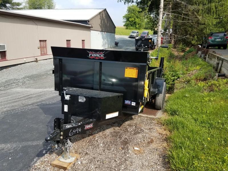 2018 Forest River Inc. 5X10 Dump Trailer