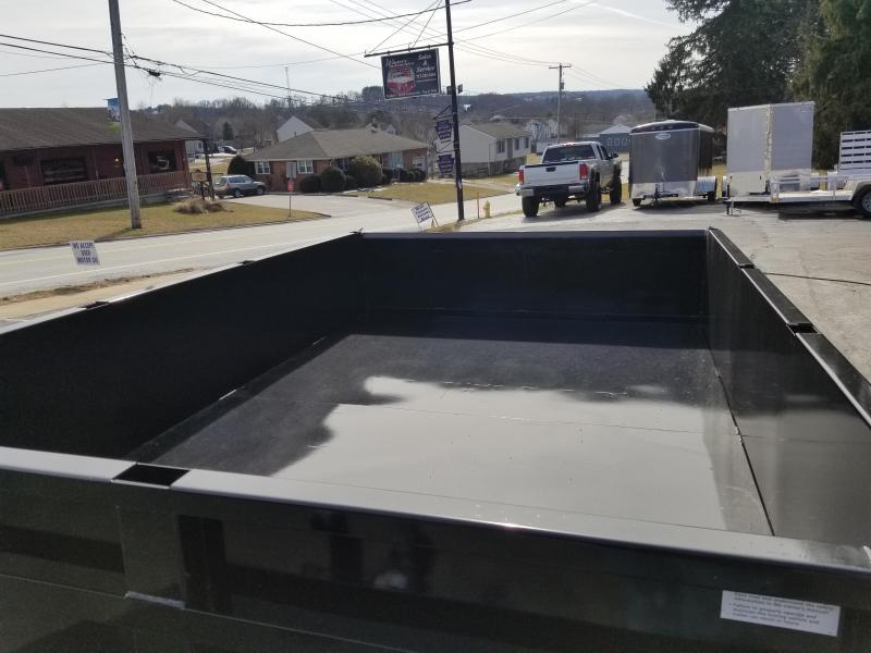 2019 Pequea D10 74 X 10 Dump Trailer