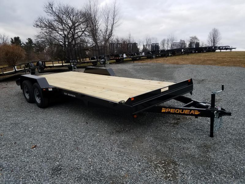 2018 Pequea CH 20 Car / Racing Trailer
