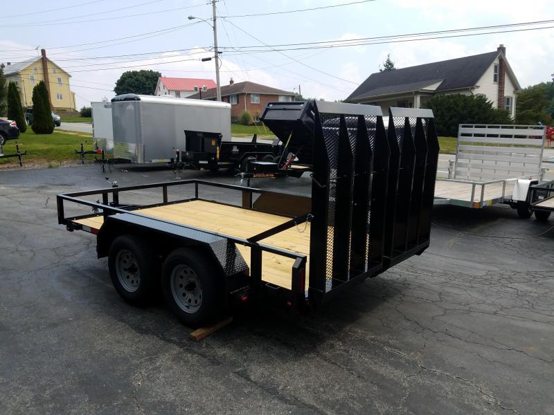 2019 Pequea 80x12 Tandem Axle Utility Trailer