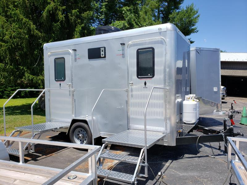 2020 Forest River 612SA 2 STALL Restroom / Shower Trailer