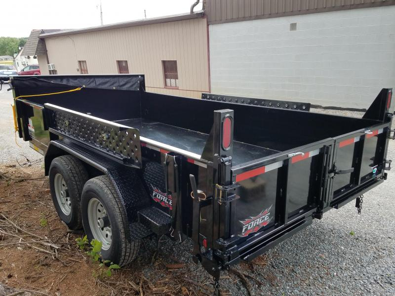 2018 Forest River Inc. FORCE 6.8X14 Dump Trailer