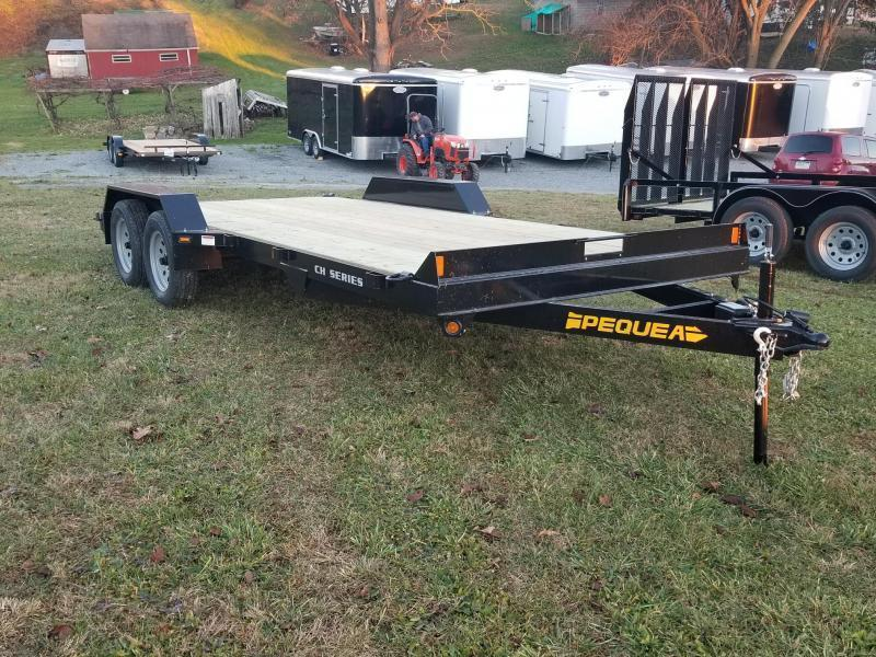 2018 Pequea CH 18 CAR HAULER Car / Racing Trailer