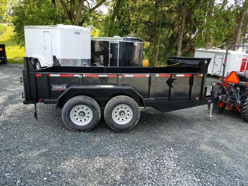 2018 Forest River Inc. 6.8x12 Dump Trailer