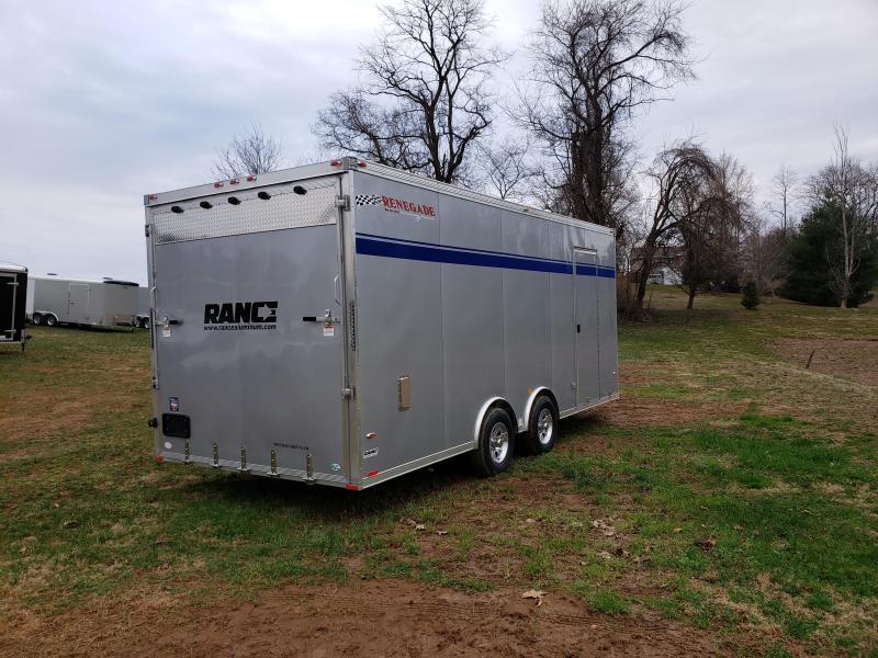 2019 Rance Aluminum Trailers RECH820TA3 Car / Racing Trailer