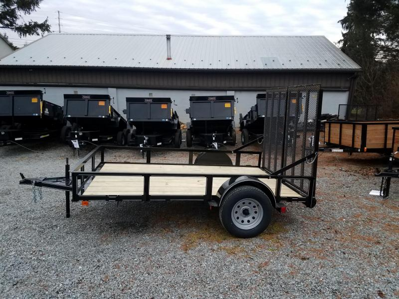 2018 Pequea 6X10  WITH RAMPS Utility Trailer