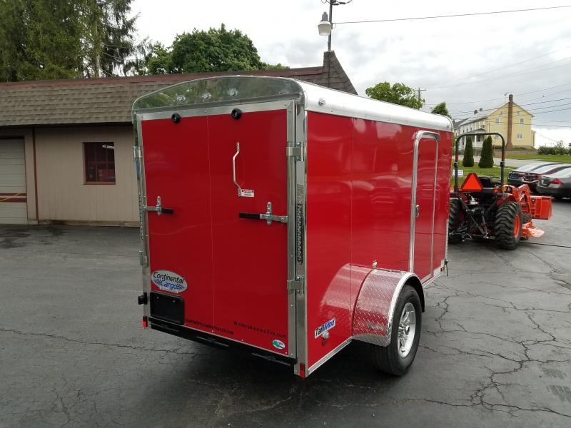 2018 Continental Cargo TW510SA Enclosed Cargo Trailer