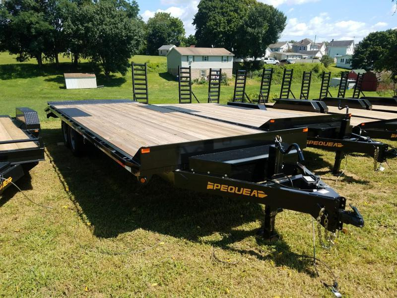 2019 Pequea DECKOVER 24 Flatbed Trailer LEVEL in Ashburn, VA