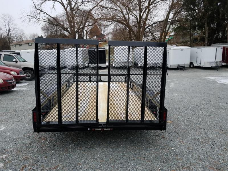 2018 Pequea 80x14 Utility Trailer with ramps