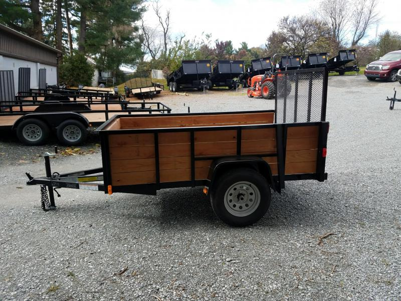 2018 Forest River Inc. 5X8 WOODSIDE Utility Trailer