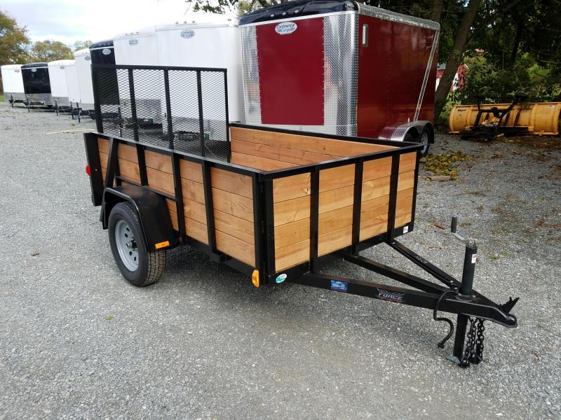 2019 Forest River Inc. 5X8 WOODSIDE Utility Trailer