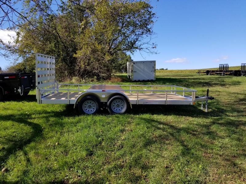 2019 Rance Aluminum Trailers 6.5 X 16 TA Utility Trailer