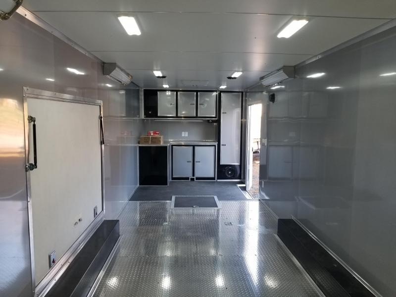 2020 Continental Cargo AM8.5X28TA3 Enclosed Cargo Trailer