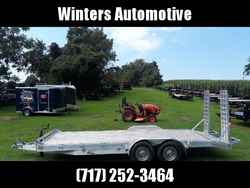 2019 American Hauler Industries AHAFE820TA5 Equipment Trailer