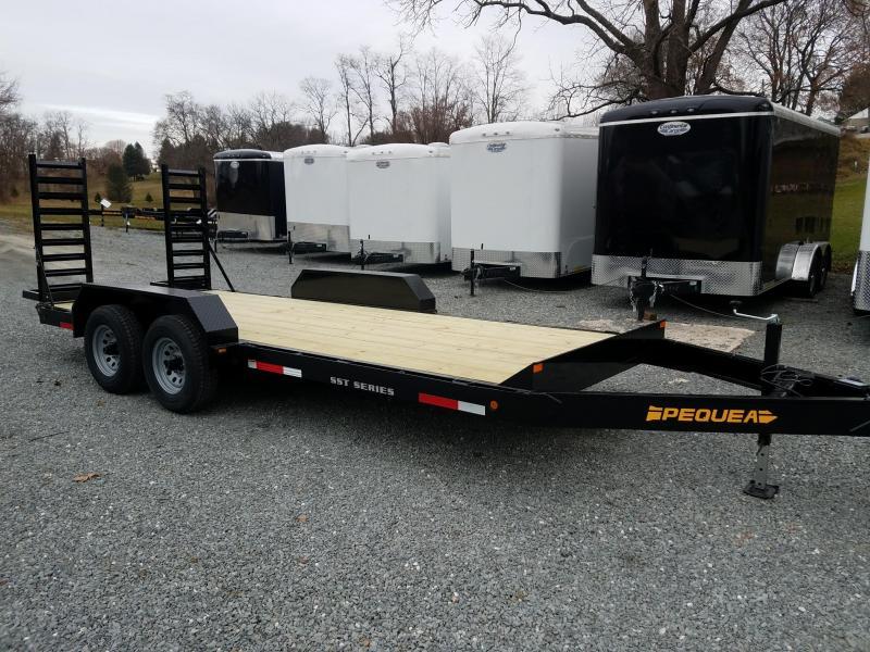 2018 Pequea SKID STEER 20 Equipment Trailer