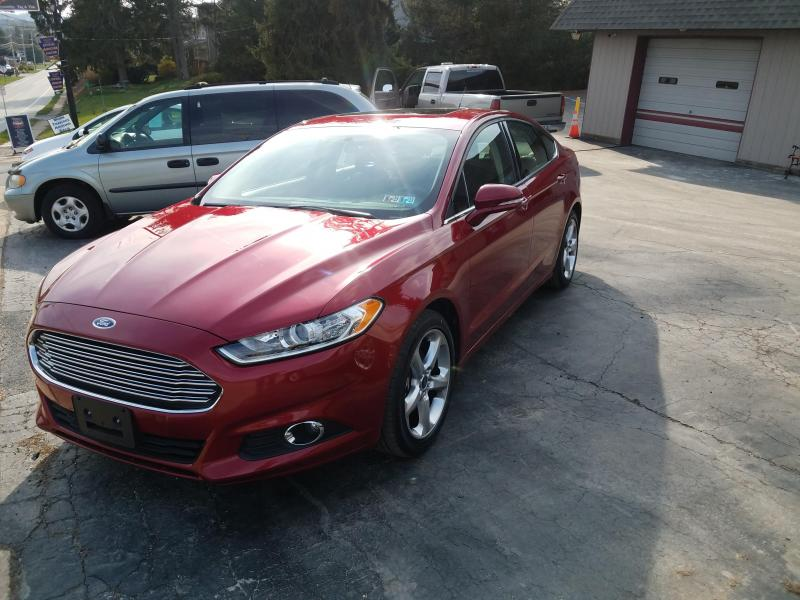 2015 Ford Fusion SE SDN Car