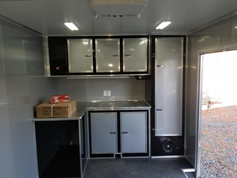 2019 Continental Cargo AM8.5X28TA3 Enclosed Cargo Trailer