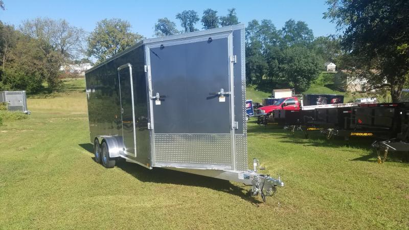2020 Lightning Trailers LTFES718TA2 Snowmobile Trailer