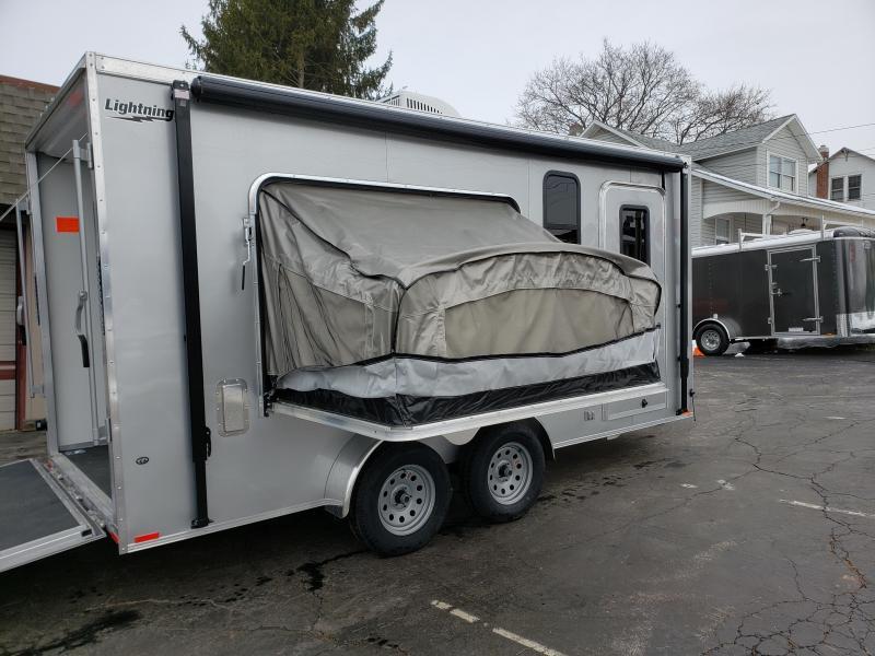 2019 Lightning Trailers LTF716TA2 Tent Camper