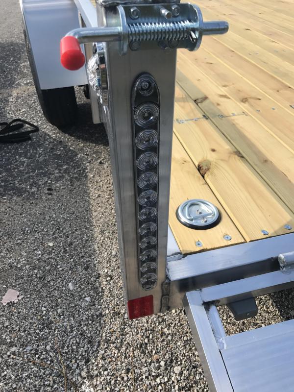 2019 Rance Aluminum Trailers 6.5 X 14 SA Utility Trailer