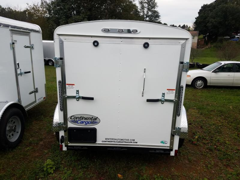 2019 Continental Cargo Tailwind 5x8 ramp Enclosed Cargo Trailer