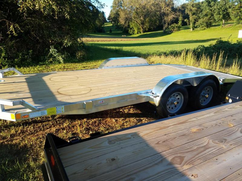 2019 Cargo Mate 7X18 Aluminum Car / Racing Trailer