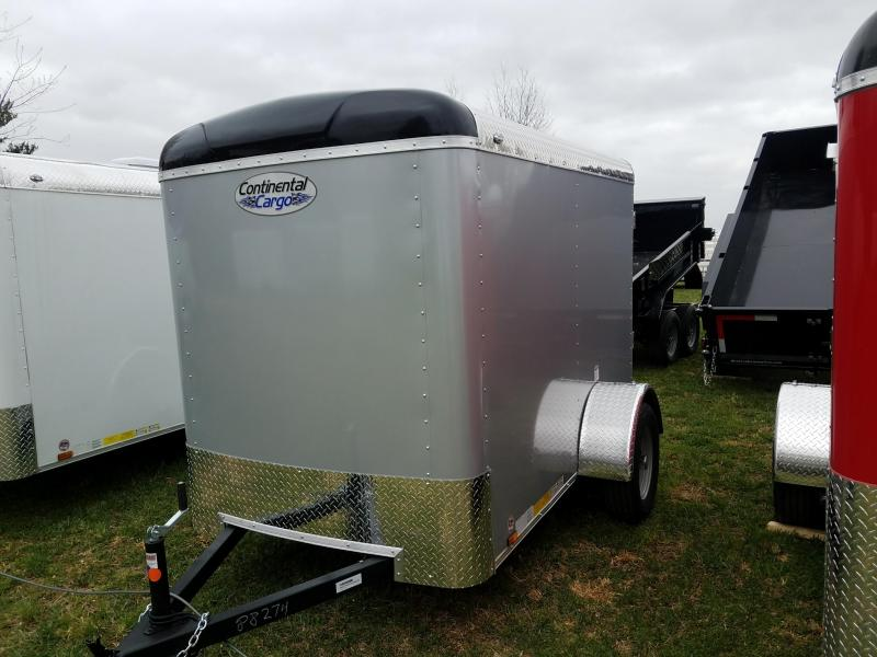 2019 Forest River Inc. Tailwind 5x8 ramp Enclosed Cargo Trailer