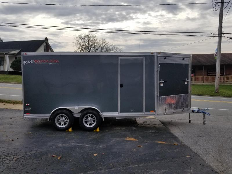 2019 Rance Aluminum Trailers RENEGADE 7X14 Snowmobile Trailer
