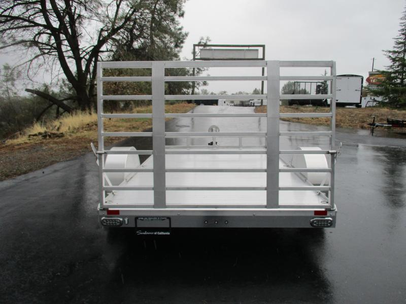 "2017 Sundowner 6'9"" X 12 Utility Trailer"
