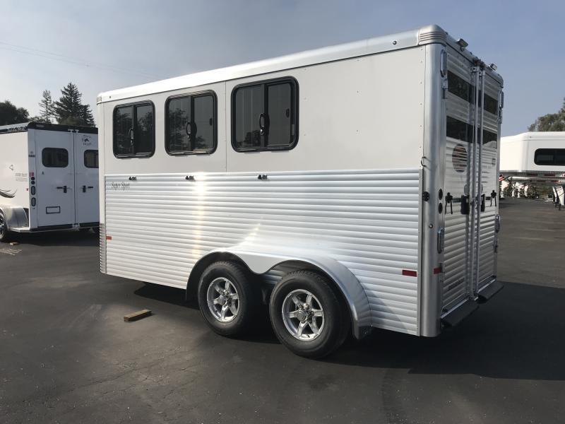 2019 Sundowner Trailers Super Sport 3H BP Horse Trailer