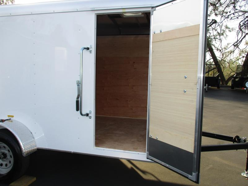 2018 TNT 6 x 12 Tote Single Axle Enclosed Cargo Trailer